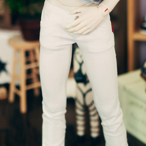 SD17 Boy Neat Skinny Pants - White