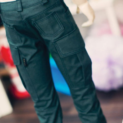 SD17 Boy Cargo Pants - Green