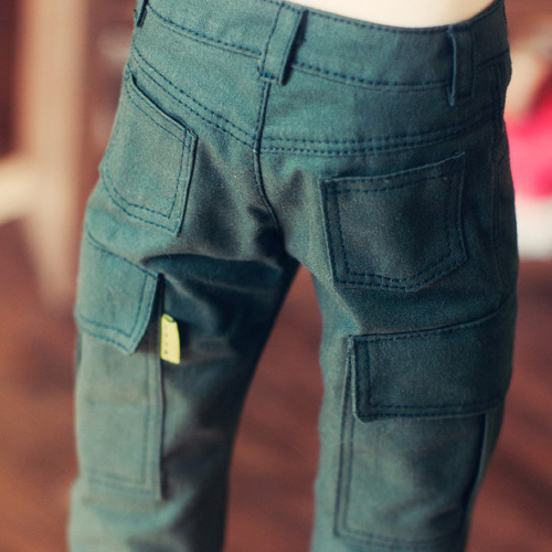 SD13 Boy Cargo Pants - Green