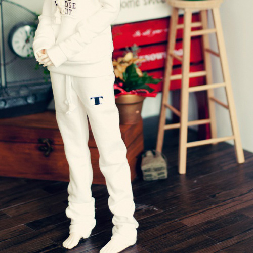 SD13 Girl Sweat Pants - White