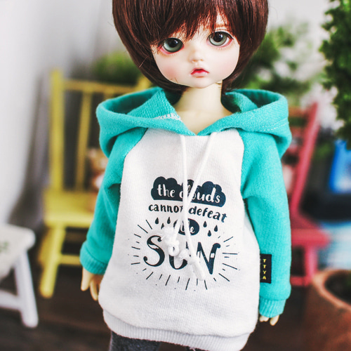 USD SUN Hooded T - Mint