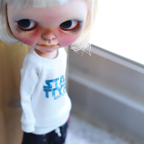 Blythe STAR TTYA Long MTM - B.White
