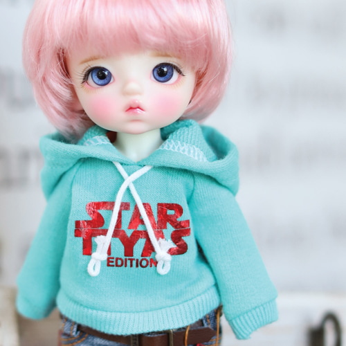 STAR TTYA Hooded T - Mint