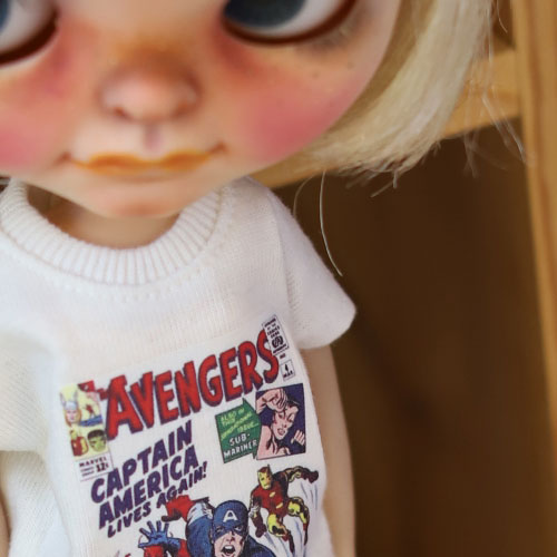 Blythe Marvel T shirt - White