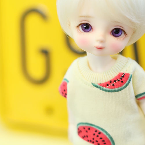 Little Watermelon T shirt - Yellow