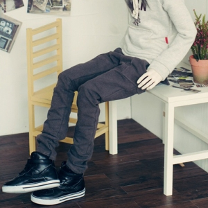 SD17 Boy Band Baggy Pants - Gray