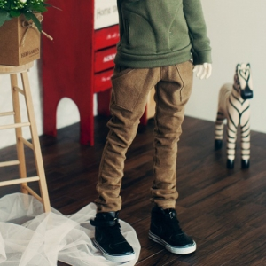 SD17 Band Baggy Pants - Chestnut