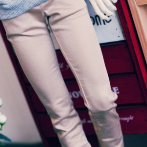 SD17 Color Skinny Pants - Beige