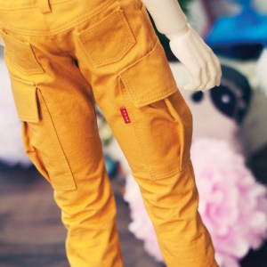 SD17 Boy Cargo Pants - Mustard
