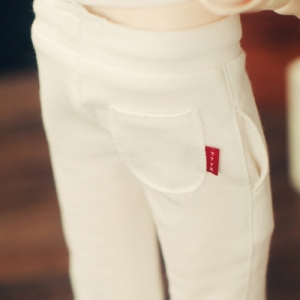 SD13 Boy Sweat Pants - White