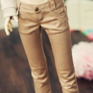 SD13 Boy Skinny Pants - Beige