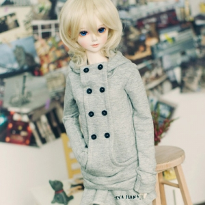SD13 Girl Chic hooded T - Gray