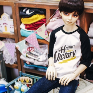SD17 Boy Victory T shirt - Black