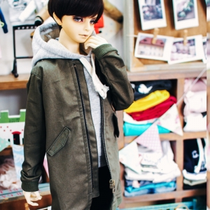 SD17 Boy Long Airlines Jumper - Khaki