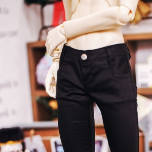 SD17 Color Skinny Pants - Black