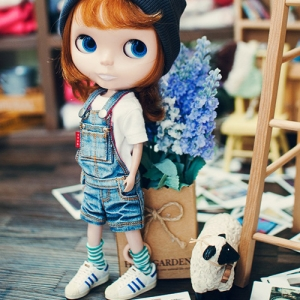 Blythe Washing Short Overall