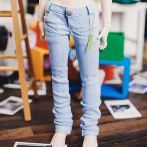 MSD/Unoa Real Skinny Jeans - Skyblue
