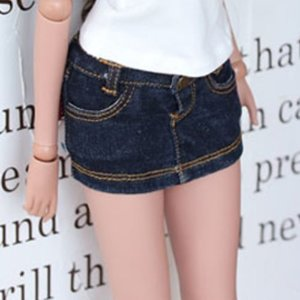 Smart Doll Stone Washing Skirts - D.Blue
