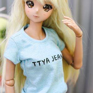 SD13 Girl & Smart Doll Basic T shirt - Sky