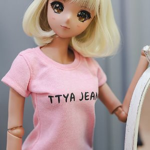 SD13 Girl & Smart Doll Basic T shirt - Pink