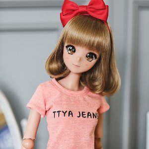SD13 Girl & Smart Doll Basic T shirt - L.Orange