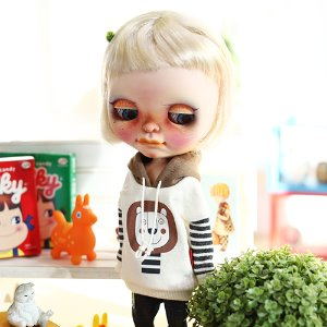 Blythe Lion Hooded - Brown