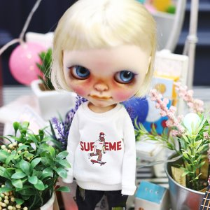 Blythe Uncle Board MTM - White
